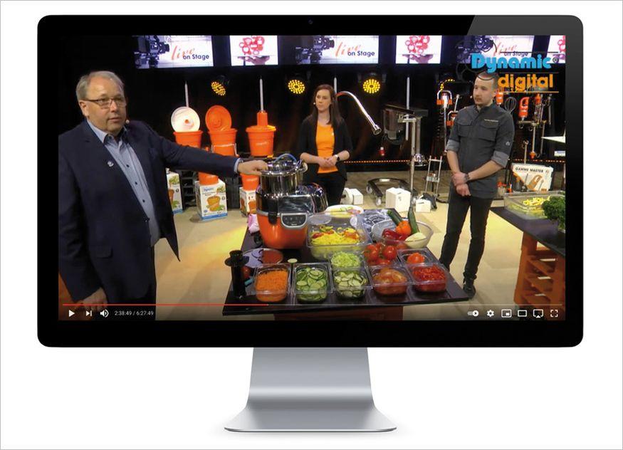Die Intergastra digital fand dieses Jahr online statt. Mit dabei war das Unternehmen Dynamic Professional, das nicht nur Produktpräsentationen im Programm hatte