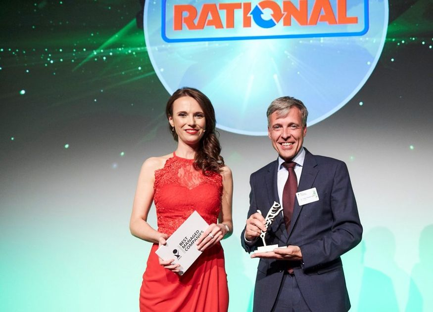 Axia Best Managed Companies Award Rational Dr Peter Stadelmann