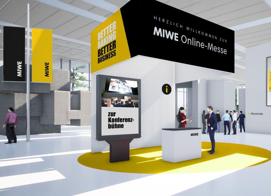 MIWE Online Messe Lobby
