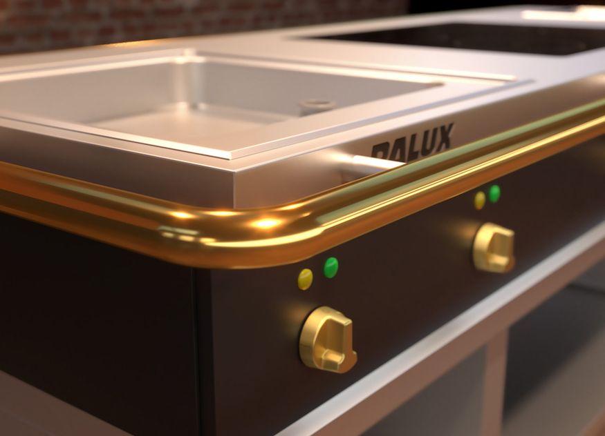 """Die neue Palux X-Line wird erstmals auf den Messen Hoga, Host und """"Alles für den Gast"""" vorgestellt"""