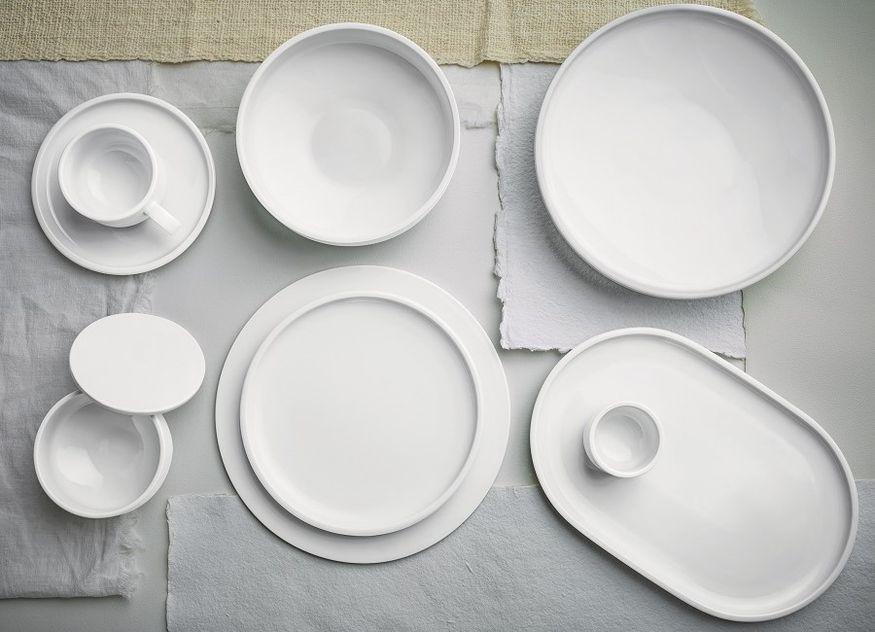 Schönwald Porzellan Shiro weiße Teller