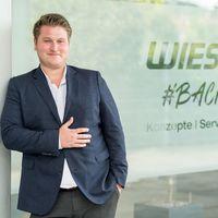 Pascal Hautecouverture führt seit 1. August 2021 den Geschäftsbereich Vertrieb und Marketing von Wiesheu