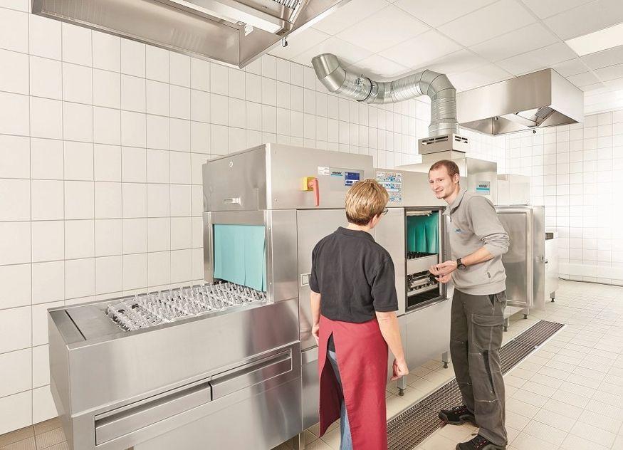 Winterhalter Spülmaschine Gastronomie