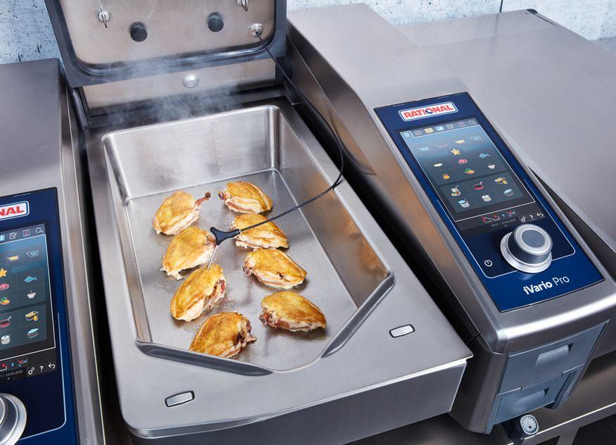 Rational gewann dieses Jahr beim German Innovation Award mit den Kochsystemen iCombi Pro 10-1/1 und iVario Pro 2-S (im Bild) gleich zweimal in der Kategorie Kitchen