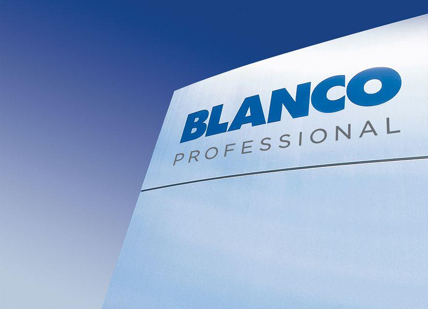 Blanco Professional präsentiert sich mit einem frischen, modernen Auftritt ab Anfang Oktober 2021 mit einer neuen Unternehmensmarke
