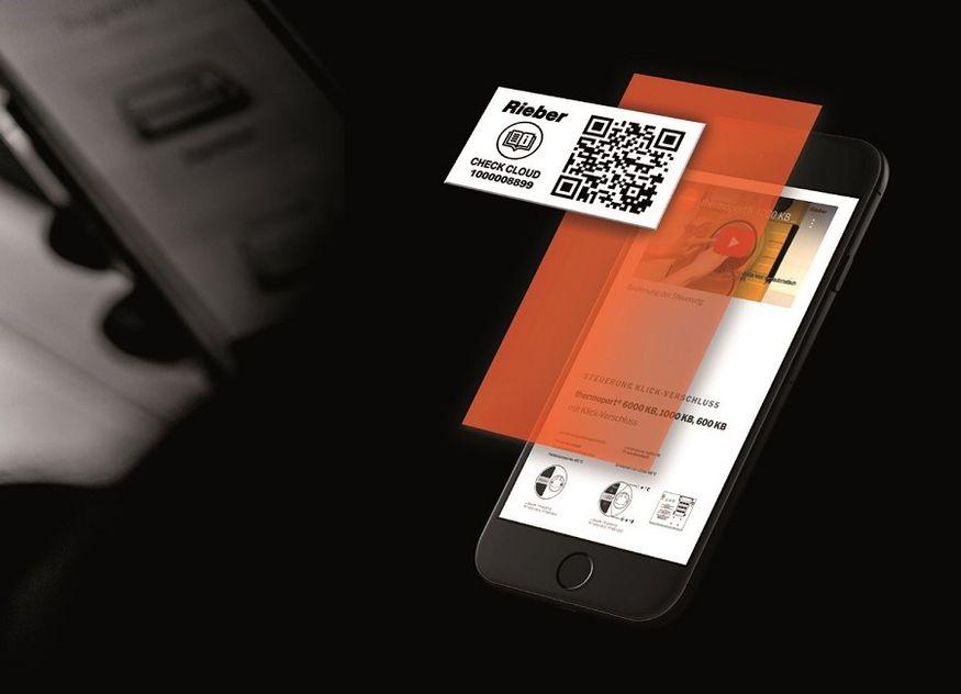 Rieber Service Handy QR Code
