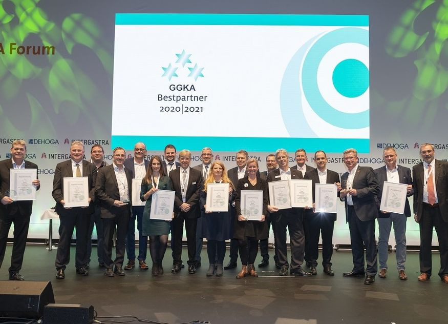 GGKA Bestpartner Verleihung Preis Intergastra
