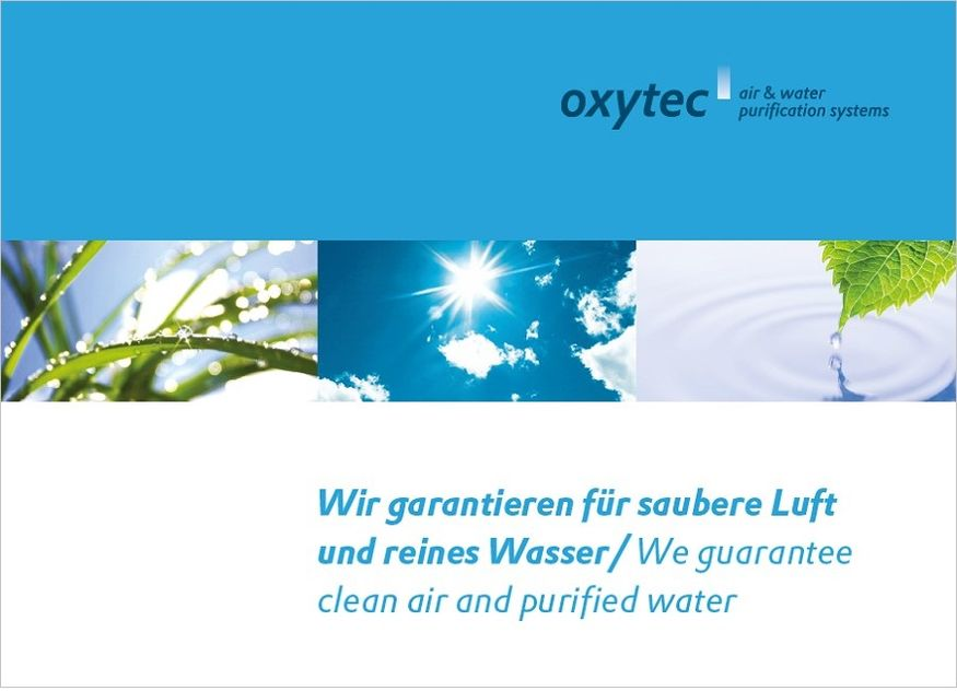 oxytec Produktkatalog Cover