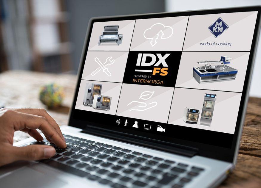 MKN präsentiert sich auf der IDX_FS mit der digitalen world of cooking