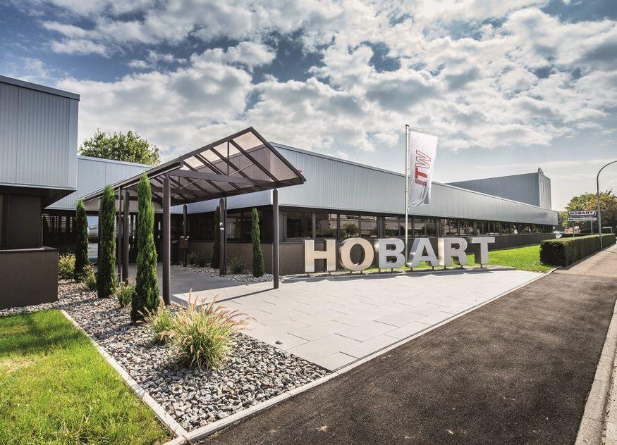 Hobart Standort Offenburg Gebäude aussen Schriftzug
