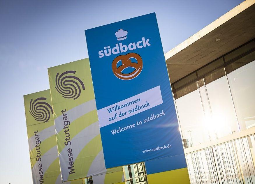 Messe Stuttgart südback Eingang