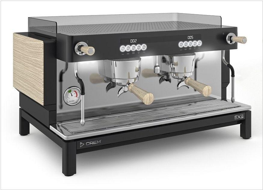 Kaffeemaschine Siebträger Crem
