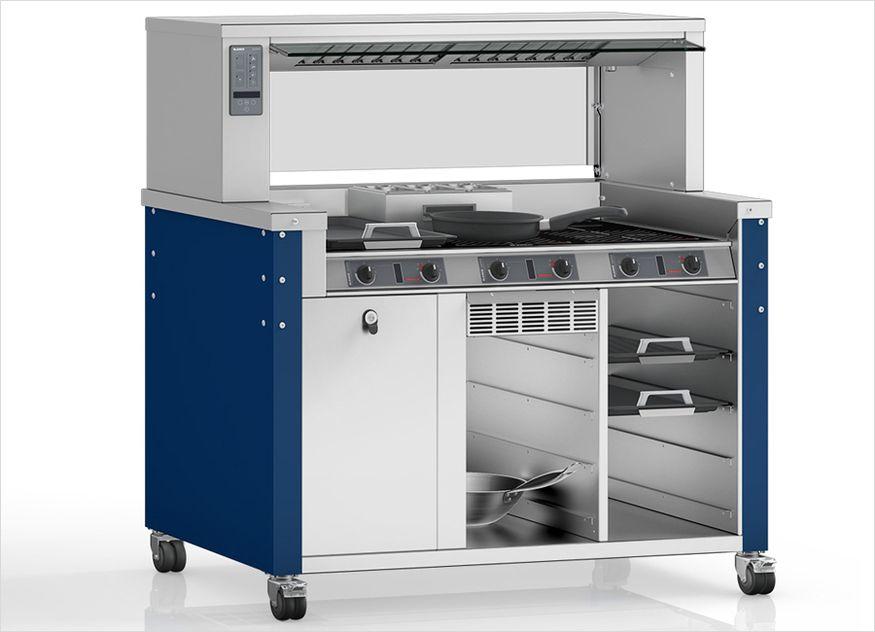 Blanco Professional Großküchentechnik Cook classic I-flex kompakt mobil Induktionstechnik
