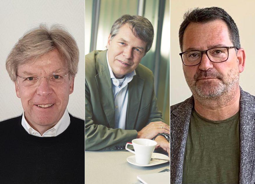 Bilden den neuen Vorstandsvorsitz des GGKA (von links nach rechts): Bernd Glocker, Harald Fuchs und Andreas Körner / Fotos: GGKA