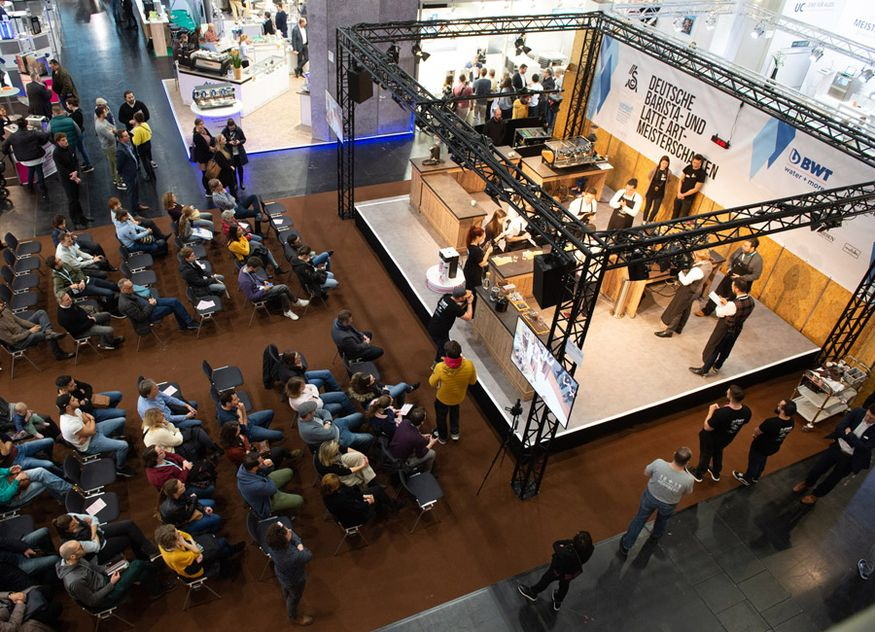 Die Gastronomiefachmesse HOGA findet vom 17. bis 19. Oktober 2021 in Nürnberg statt