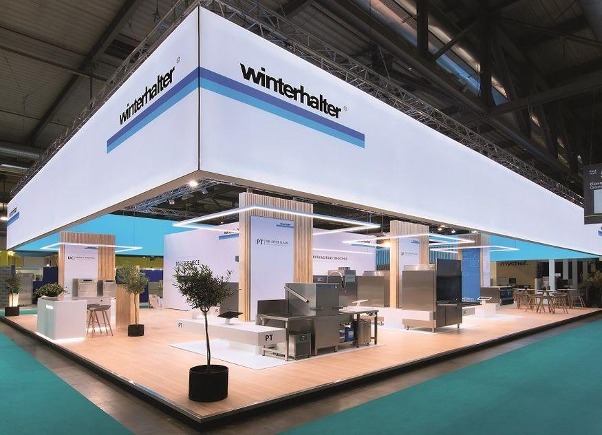 Winterhalter Messe Stand