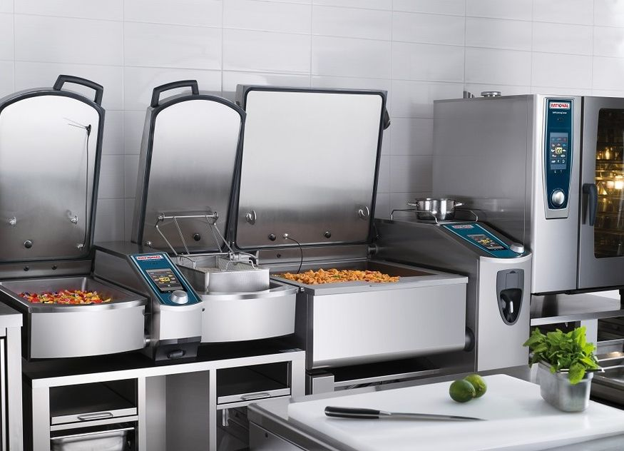 Rational VarioCookingCenter SelfCookingCenter Küche