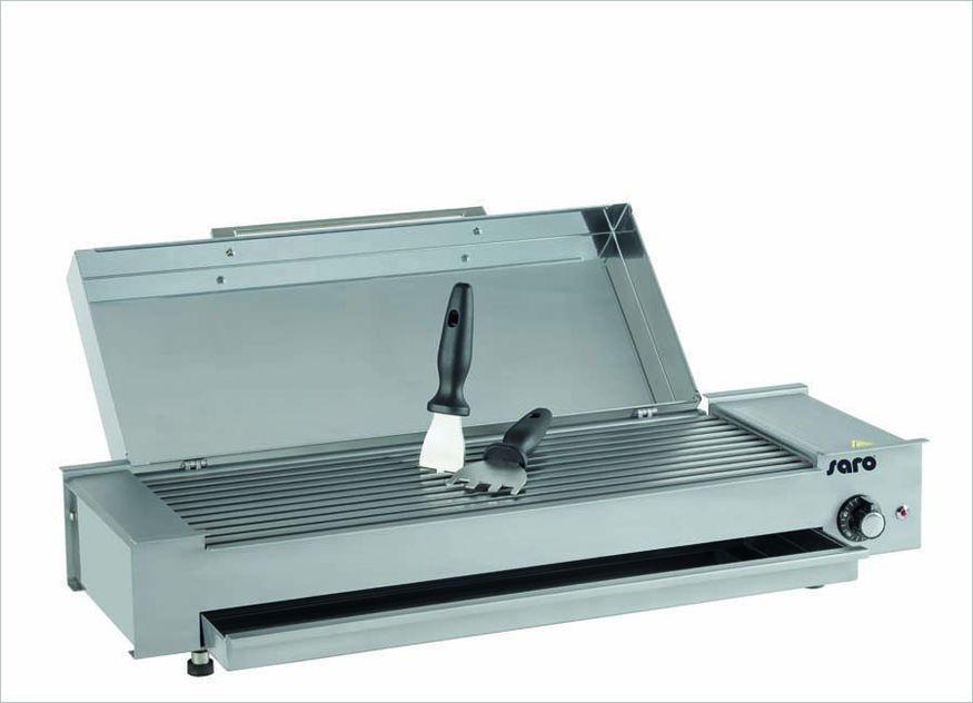 Der neue Mini Wow Grill von Saro Gastro-Products ist energiesparend und erhitzt superschnell auf Höchsttemperatur