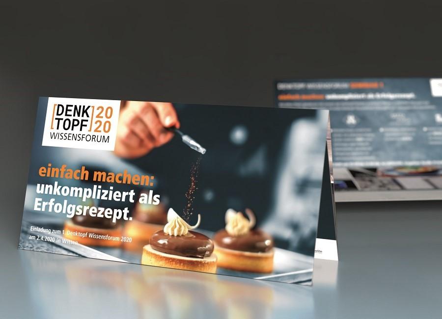 Hörstke Großküchen Einrichtungen Denktopf Flyer