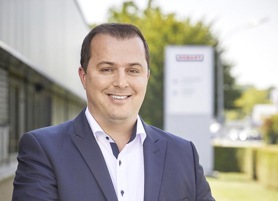Matthias Siebert ist neues Mitglied der Hobart-Geschäftsleitung und leitet seit Anfang April den Service des Unternehmens