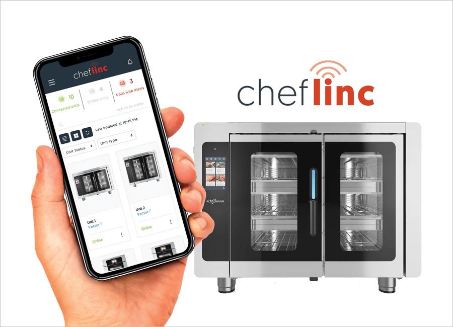 Das Cloud-basierte Remote-Ofen-Management ChefLinc von Alto-Shaam hilft Nutzern dabei ihre Küchengeräte, Menüs und Geschäfte von jedem beliebigen Ort zu kontrollieren