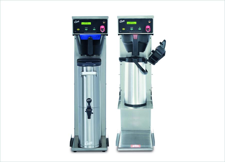 Das Curtis G3 Tea/Coffee Combo Brühsystem von Schaerer Deutschland lässt sich ideal in der Gemeinschaftsverpflegung einsetzen