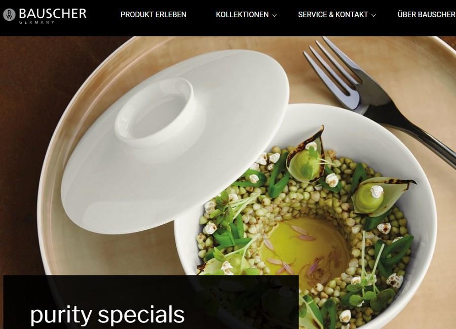 Bauscher Website Screenshot
