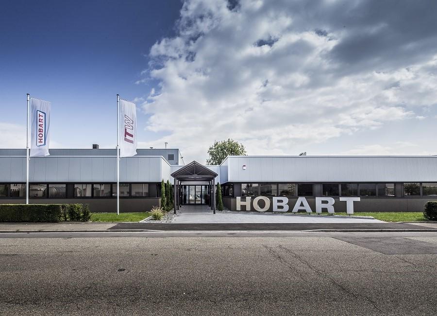 Hobart Offenburg Gebäude Fahnen