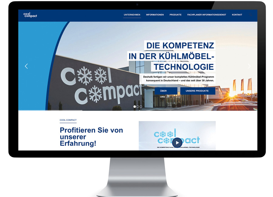 Cool Compact neue Website
