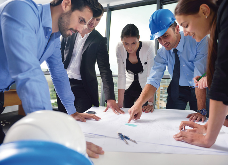 Bauplanung Baustelle Projektplanung