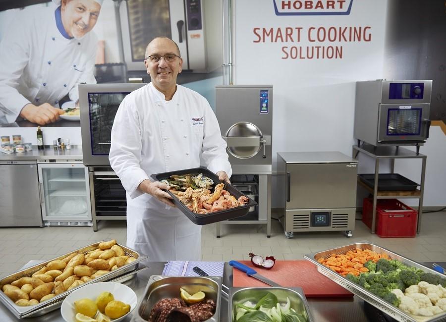 Hobart Schulungen Markus Brandl Business Development Manager Cooking