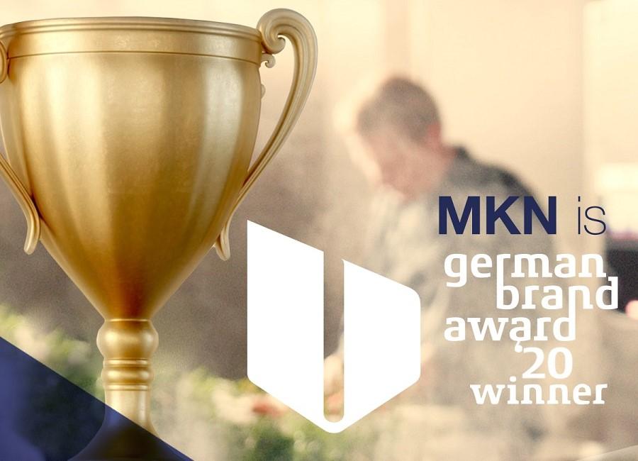 MKN German Brand Award Pokal