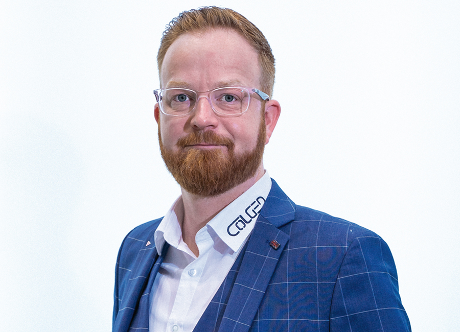 Tobias Harmuth wechselt unternehmensintern seine Position. Nach vier Jahren als Key Account Manager, übernimmt er nun die nationale Vertriebsleitung bei Colged Deutschland