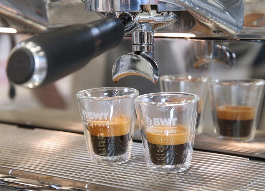 BWT water+more Messe Kaffeemaschine Kaffee
