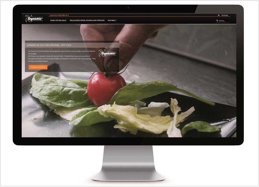 Dynamic Professional Website Screenshot