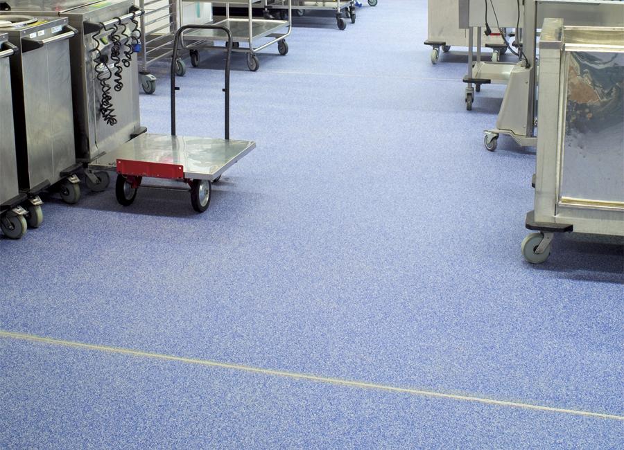 Silikal Fußboden Großküche Prüfzeugnisse Rutschhemmung Arbeitsschutz