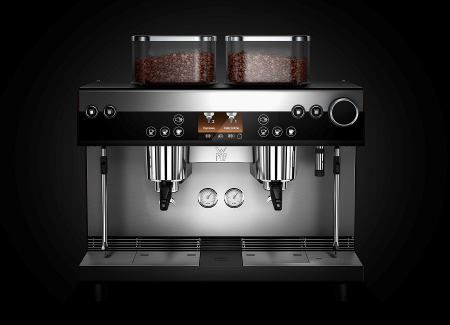 WMF espresso Siebträger Kaffeemaschine