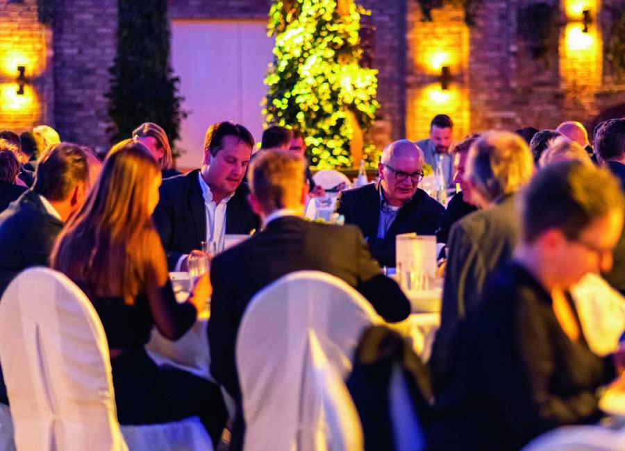 Hörstke Großküchen Einrichtungen Halle Tor 2 Köln exklusive Branchentagung 120 Gäste