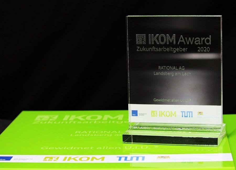 IKOM Award Zukunftsarbeitgeber