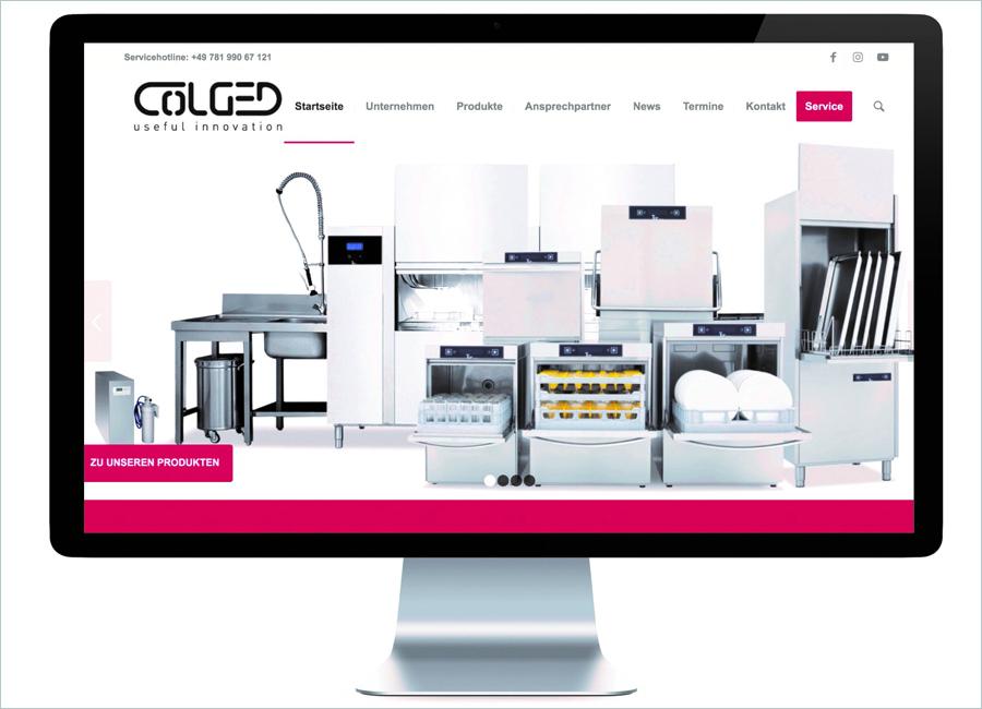 Colged hat seine Webseite neu aufgelegt und den praktischen Nutzen für User erhöht, zum Beispiel durch die einfache Produktsuche und die neue Vergleichsfunktion
