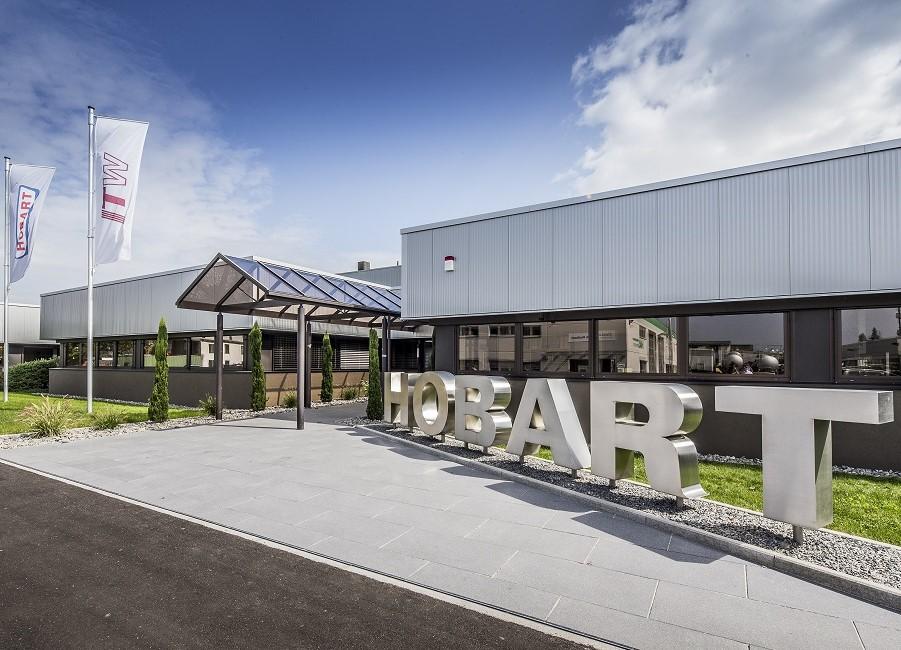 Hobart Gebäude Offenburg Schriftzug