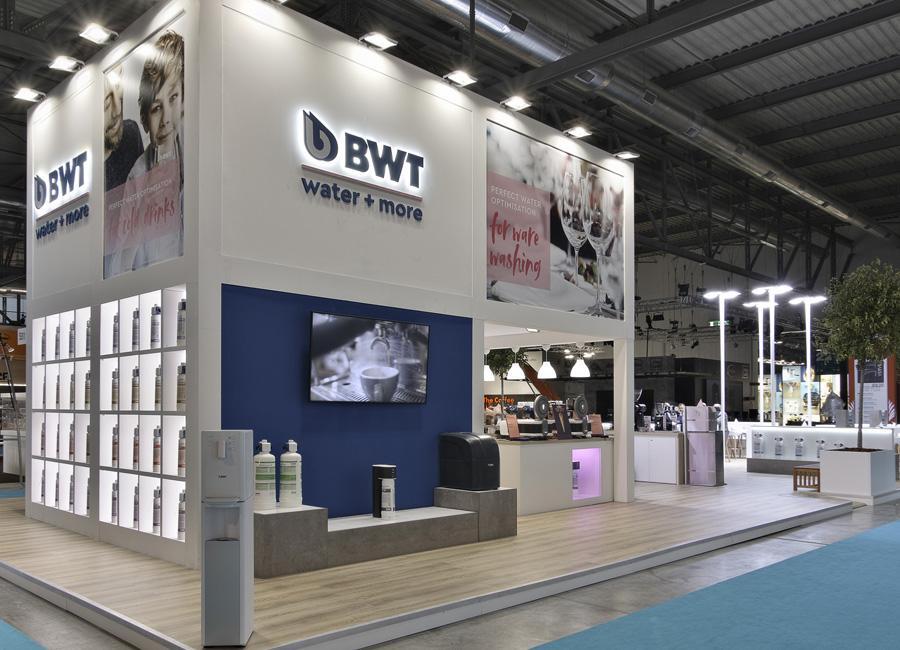 BWT water+more ist mit eigenem Stand in Halle 24, Stand K52-L51 vom 22. bis 26. Oktober auf der HOST in Mailand anzutreffen